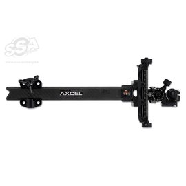"Axcel Axcel Compound Sights Achieve XP UHM Carbon Bar / Ext 9"" Black/Black"