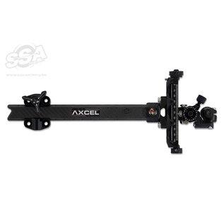 "Axcel Axcel Compound Sights Achieve Xp Uhm Carbon Bar / Ext 9"" Black/Black"