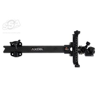 "Axcel sights AXCEL COMPOUND SIGHTS ACHIEVE XP UHM CARBON BAR / EXT 9"" BLACK/BLACK"