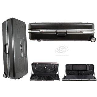 Decut Decut Recurve Cases PC-4PW With Wheels 90cm x 34cm x 20cm Shining Grid Gray
