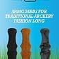 Buck Trail Bucktrail Traditional Armguards Fashion Long 34cm Honey Brown Buckskin