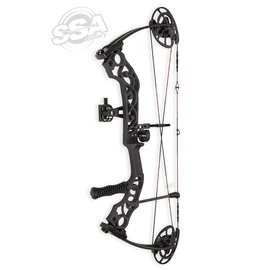 "Sanlida Sanlida Emperor Rotating Mod / 40-60Lbs / 24""-30"" / RH / Black Compound Bow Package"