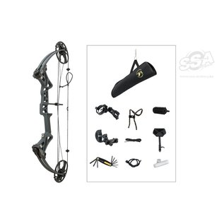 """Topoint Topoint Compound Package M1 Beginner / Rotating Mod 20-70Lbs / 19""""-30"""" / RH"""