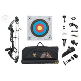 """Topoint TOPOINT COMPOUND PACKAGE M1 DELUXE / ROTATING MOD 20-70LBS / 19""""-30"""" / RH"""