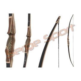 "Bucktrail Bucktrail Black Hawk 2020 - 68"" Longbow"