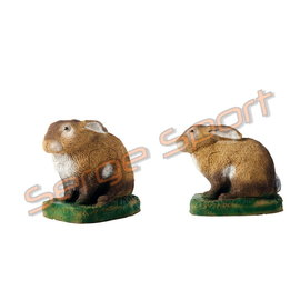 Imago 3D 3D Target Rabbit - Sitting