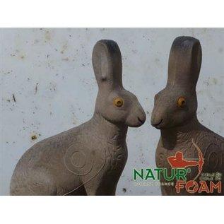 Natur Foam 3D Target Hare - Sitting