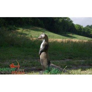 Natur Foam 3D Target Weasel - Standing