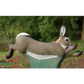 Natur Foam 3D Target Rabbit - Running