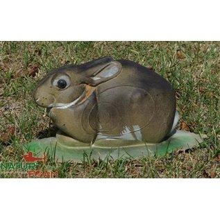 Natur Foam 3D Target Rabbit - Lying
