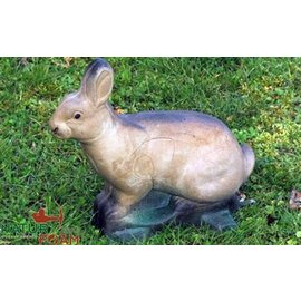 Natur Foam 3D Target Rabbit - Sitting 2
