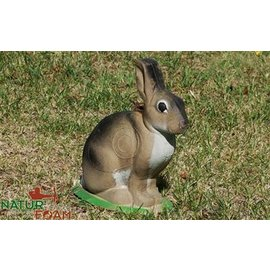 Natur Foam 3D Target Rabbit - Sitting 1