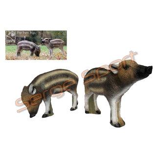 SRT 3D Target Twin Pigs
