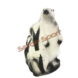 Wild Life 3D Target White Marmot
