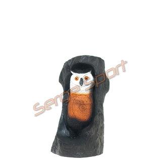 Wild Life 3D Target Owl In Trunk