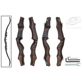 """Oak Ridge Oak Ridge Shade Series Umber - 19"""" Hunting Bow Riser ILF"""