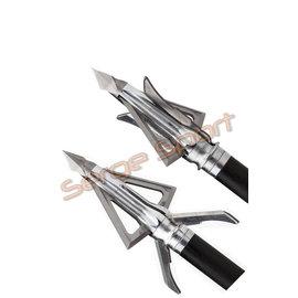 Grim Reaper Grim Reaper Hybrid Expandable - 100gr 4 Blade - 3/pk
