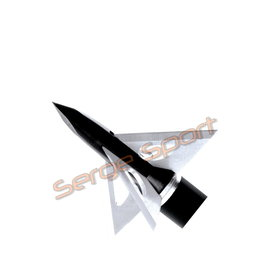 "Slicktrick Slicktrick Grizztrick II Fixed Blade - 1 1/4"" 125gr 4 Blade - 4/pk"