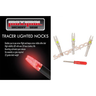 Maximal Maximal S-Size ID6.2 - Ligthed Nock - 3/pk