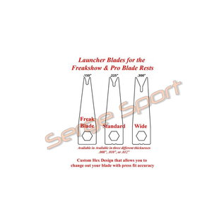 AAE Aae Launcher Assembly Pro Blade Arrow Rest Parts