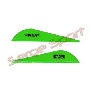 Bohning Bohning Heat Vanes - Plastic Vanes - 100/pk