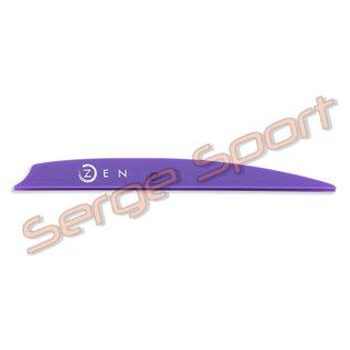 "Bohning Bohning Zen 4"" - Plastic Vanes - 100/pk"