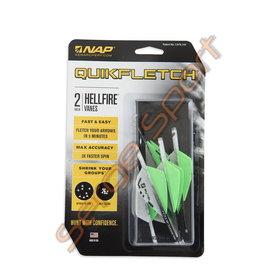 NAP NAP Quickfletch Hellfire  - 6/pk