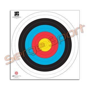 JVD FITA 60cm/300gr Cardboard - Target Face - 100/pk