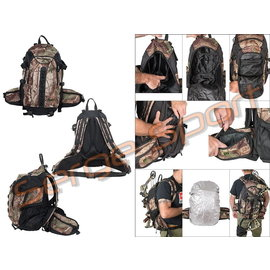 Maximal Maximal Backpack Hunt Camo W/ Raincover & Bowcarrier