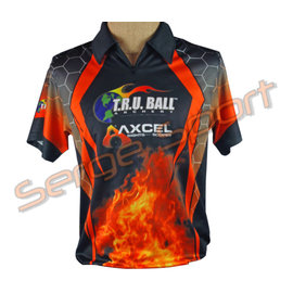 Tru-Ball Tru Ball T-Shirt Shooter Flame