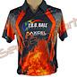 Tru-Ball Tru Ball T-Shirt Shooter Flame