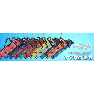 Avalon Avalon Target Quivers Tyro 2.0 - 3 Tubes With Hook And Side Pocket