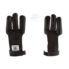 Buck Trail BUCK TRAIL SHOOTING GLOVES FULL PALM LEATHER KAPRINA WITH RENFORCED FINGERTIPS