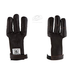 Bucktrail BUCK TRAIL SHOOTING GLOVES FULL PALM LEATHER KAPRINA WITH RENFORCED FINGERTIPS