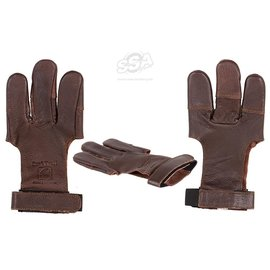 Bucktrail BUCK TRAIL SHOOTING GLOVES FULL PALM LEATHER DAMASKUS