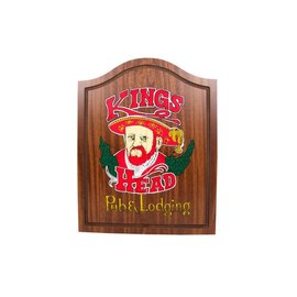 Dart Kast Kings Head