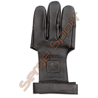 Buck Trail Shooting Gloves Stygian Full Palm Leather With Reinforced Fingertips