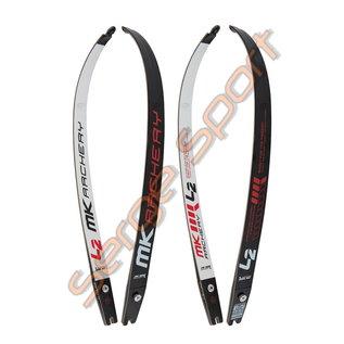 "MK Archery Limbs Carbon/Wood L2 ILF 25"""