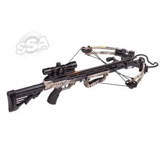 Centerpoint Center Point Sniper Elite Package 370Fps / 185Lbs / 4X32 Scope / Quiver And Cocker