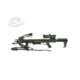 Rocky Mountain Rocky Mountain Compound Crossbow Sets Rm-360 360Fps / 185Lbs / 4X32 Scope / Quiver And Cocker