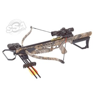 Centerpoint Center Point Tyro Package 245Fps / 175Lbs / 4X32 Scope / Quiver And Cocker