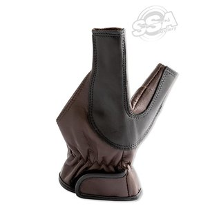 Buck Trail Buck Trail Bow Hand Protection Leather As Arrow Rest Brown/Black