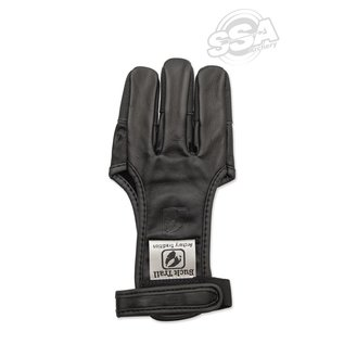 Buck Trail Shooting Gloves Onyx Full Palm Leather With Buffalo Fingertips