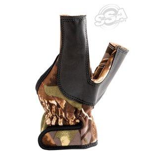 Buck Trail Shooting Gloves Camo Bow Hand Protection Neoprene