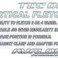 Avalon AVALON FLETCHING JIGS AVALON TEC ONE VERTICAL WITH STRAIGHT CLAMP