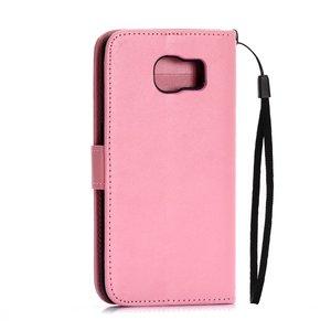 Samsung Galaxy S6 portemonnee hoesje roze