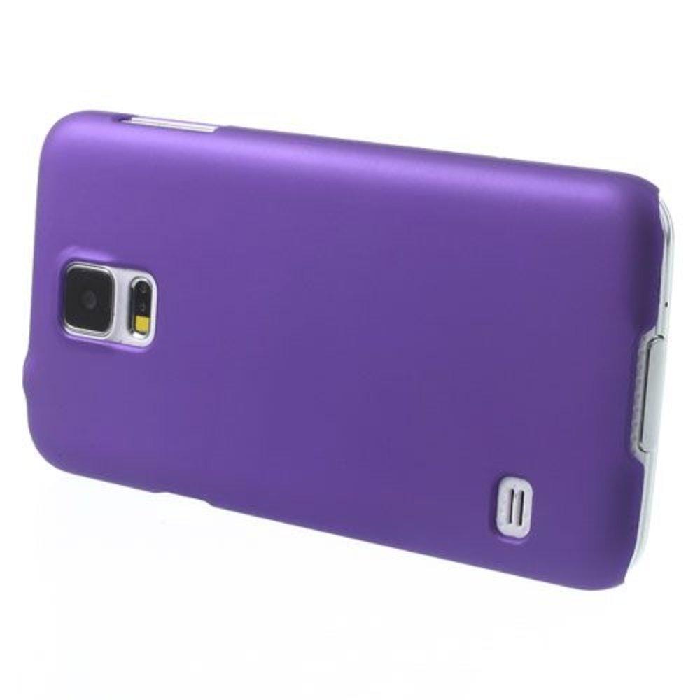 Paars Effen Hardcase Samsung Galaxy S5 hoesje