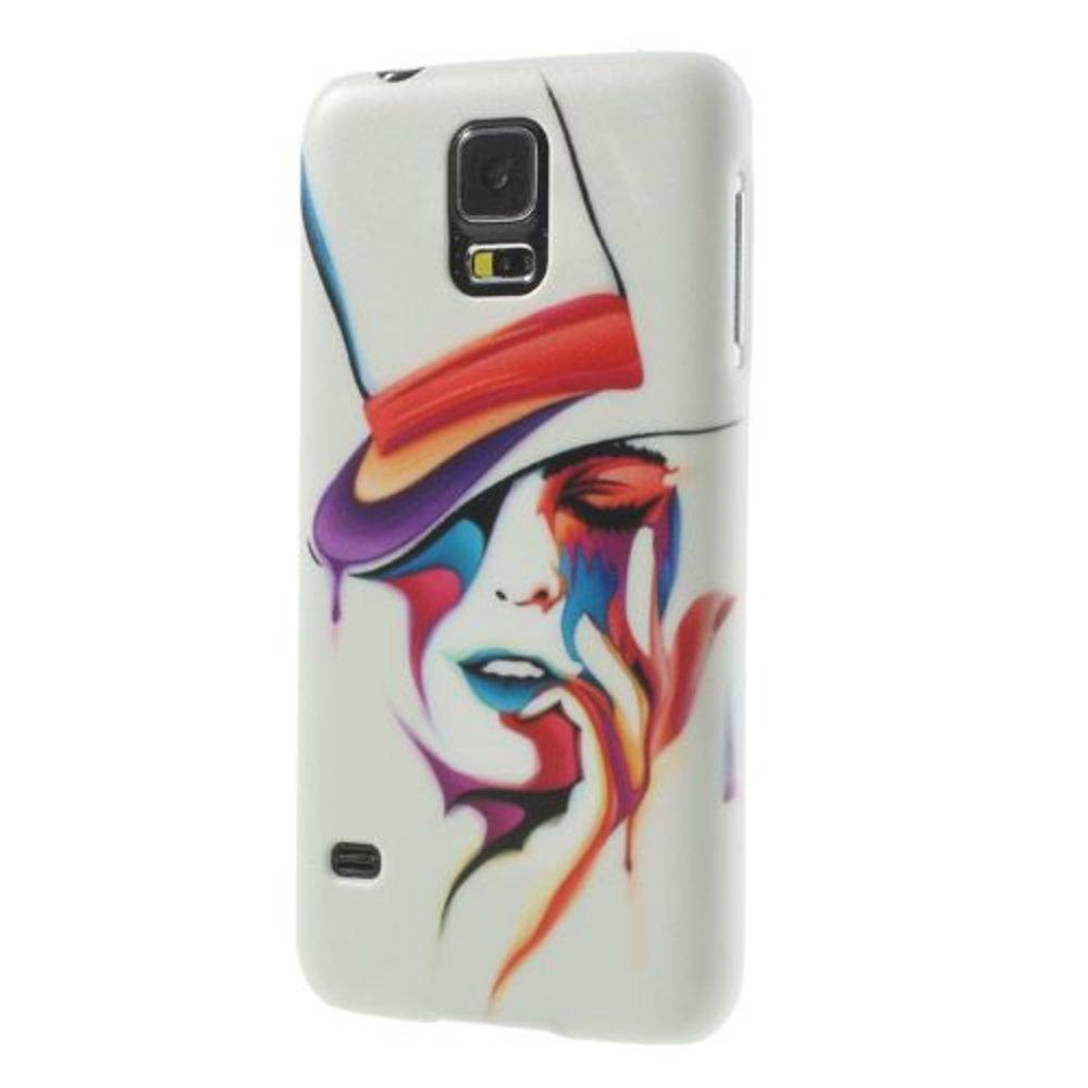 Artistieke hardcase hoesje Samsung Galaxy S5
