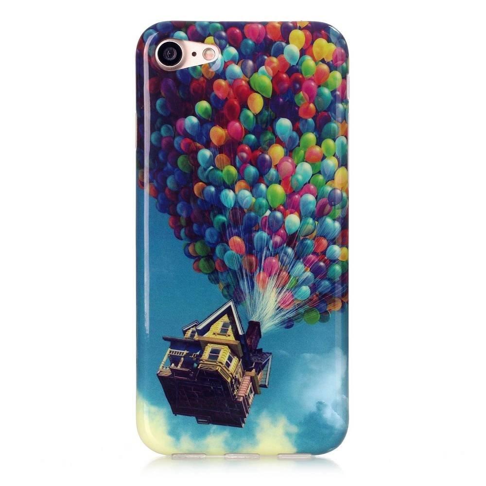 UP luchtballonnen iPhone 7 flexibel hoesje