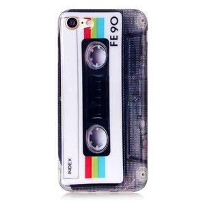 iPhone 7 flexibel hoesje  Casettebandje